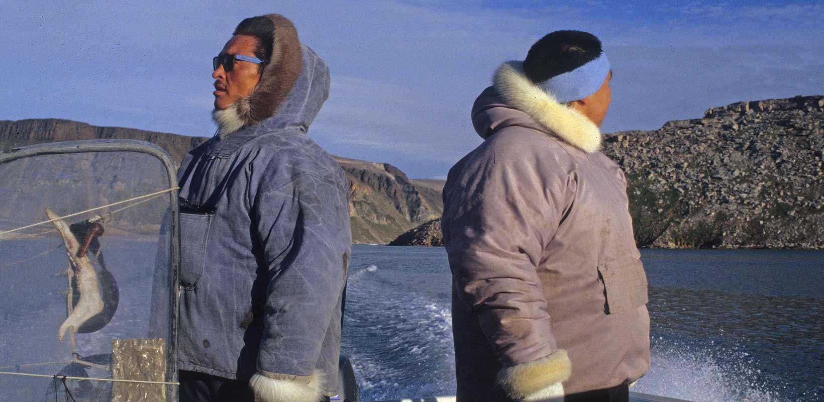 Inughuit hunters