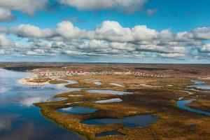 Arctic tundra, Russia