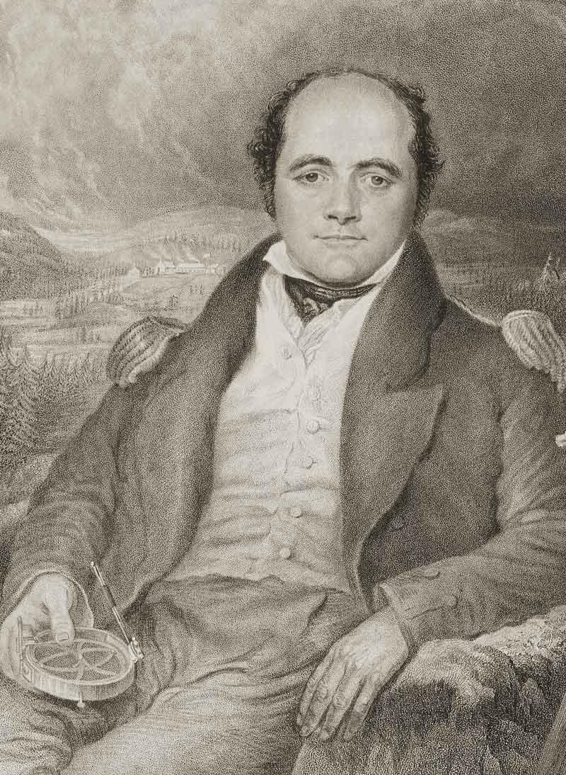 Sir John Franklin by G. R. Lewis