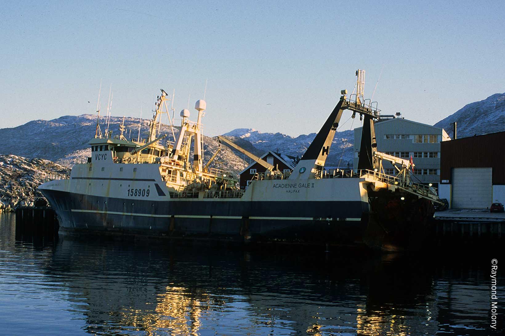 Large industrial trawler, Nuuk, Greenland